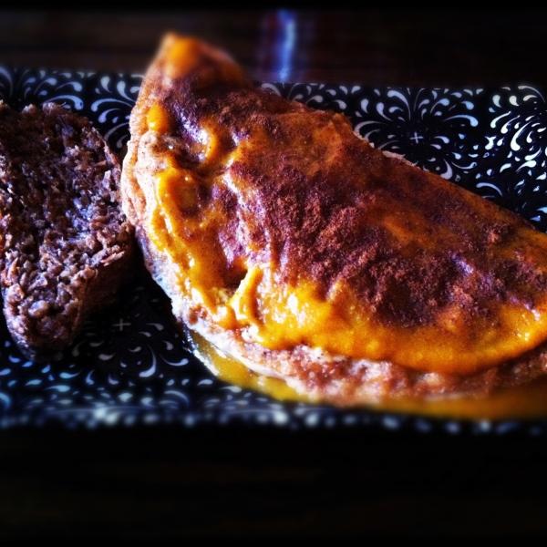 Banana Pumpkin Omelet