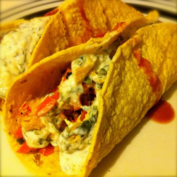 Indian Tuna Curry Tacos