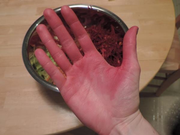 Beet Hands!