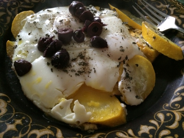 nestled_eggs_yellow_squash_olives