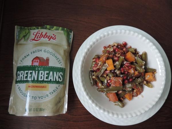 green_bean_pomegranate_sweet_potato_salad