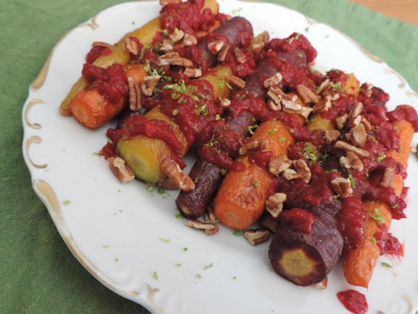 roasted_carrots_coconut_curry_beet_sauce